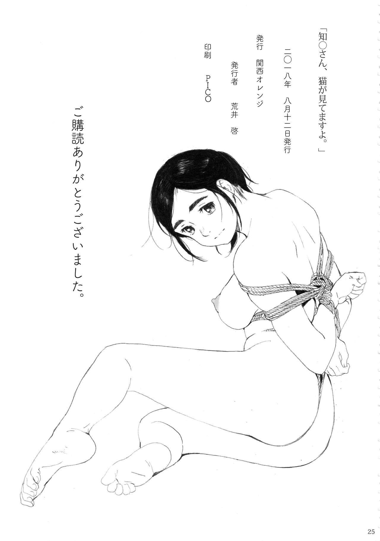 Chion-san, Neko ga Mitemasu yo. 23