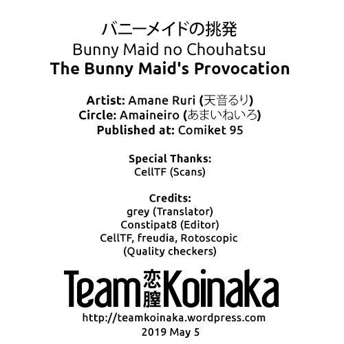 Bunny Maid no Chouhatsu   The Bunny Maid's Provocation 18