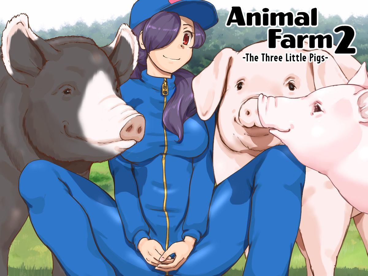 [pink-noise (Mizuiro Megane)] Doubutsu Noujou 3-biki no Kobuta-chan Hen - Animal Farm 2 The Three Little Pigs [English] [Neeko7] 0