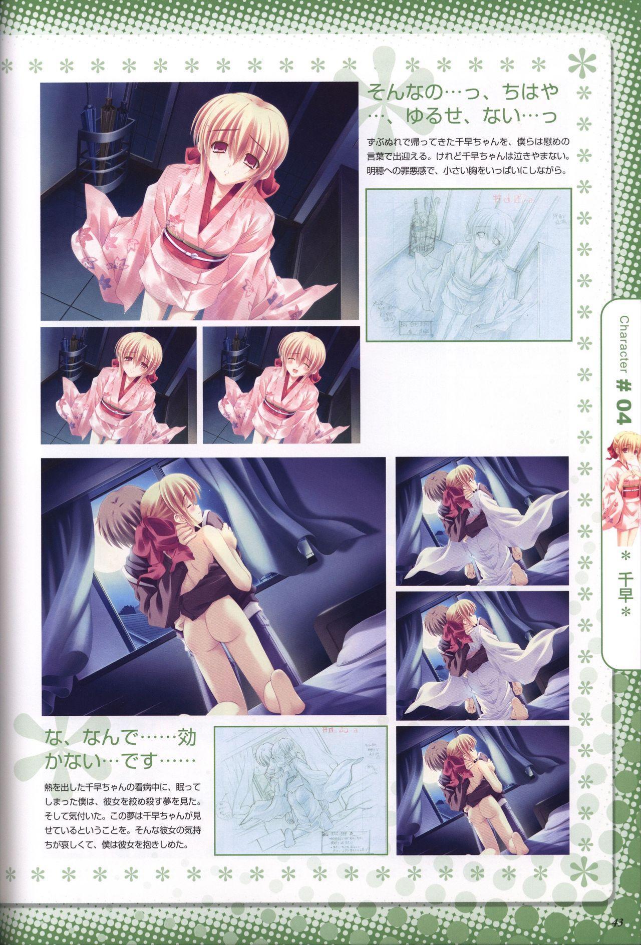 Moshimo Ashita ga Harenaraba official fanbook 43