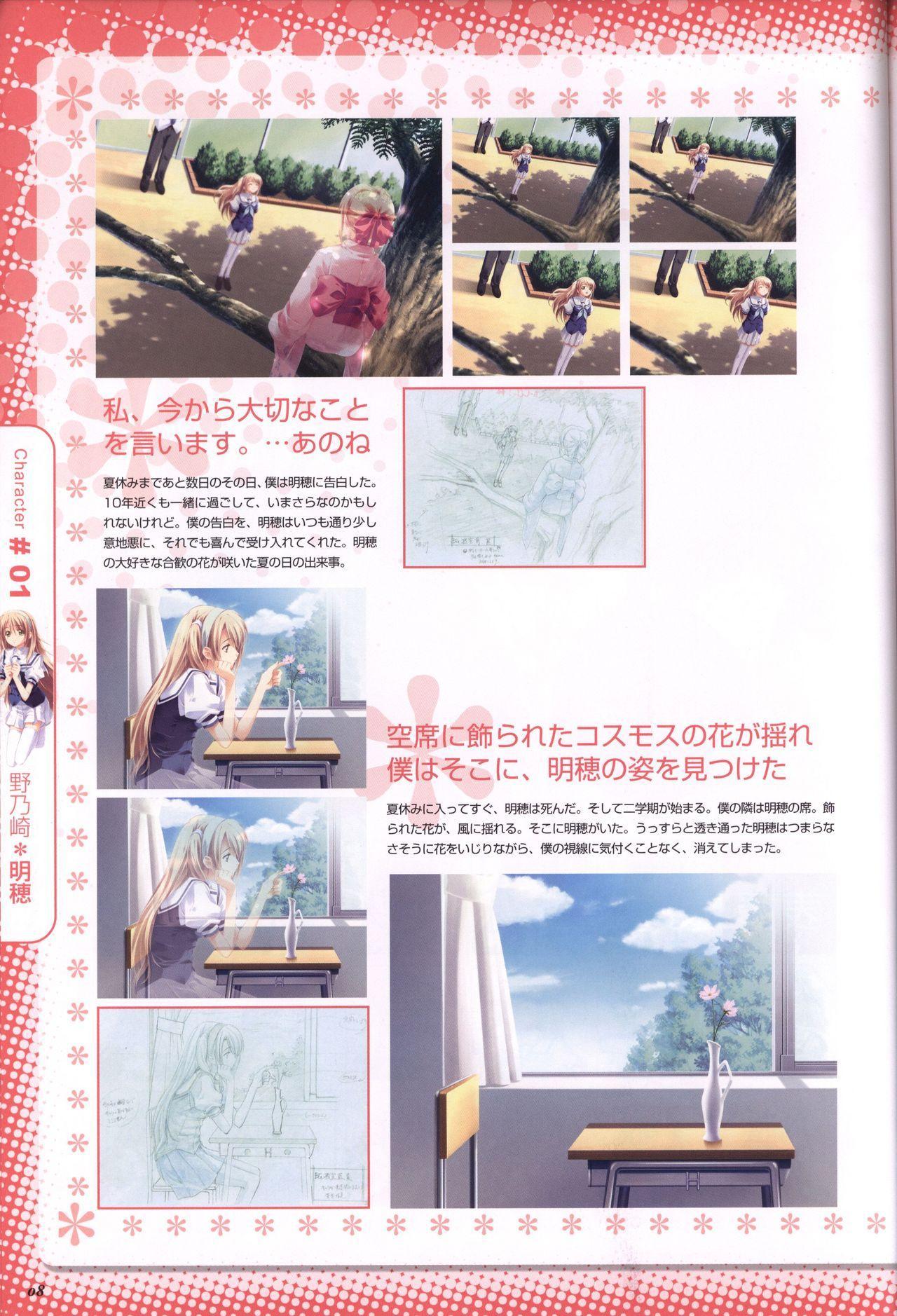 Moshimo Ashita ga Harenaraba official fanbook 8