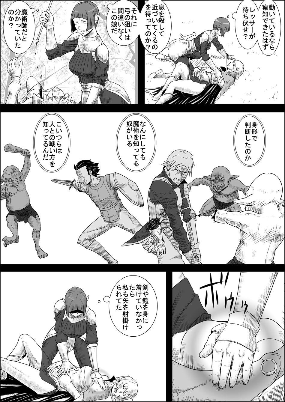 Mada Daimei no Nai Fantasy - Jimi na Elf to Minarai no Senshi II 9