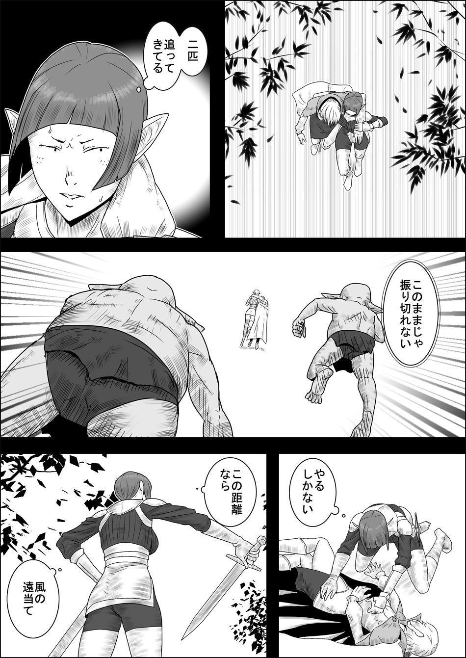 Mada Daimei no Nai Fantasy - Jimi na Elf to Minarai no Senshi II 15