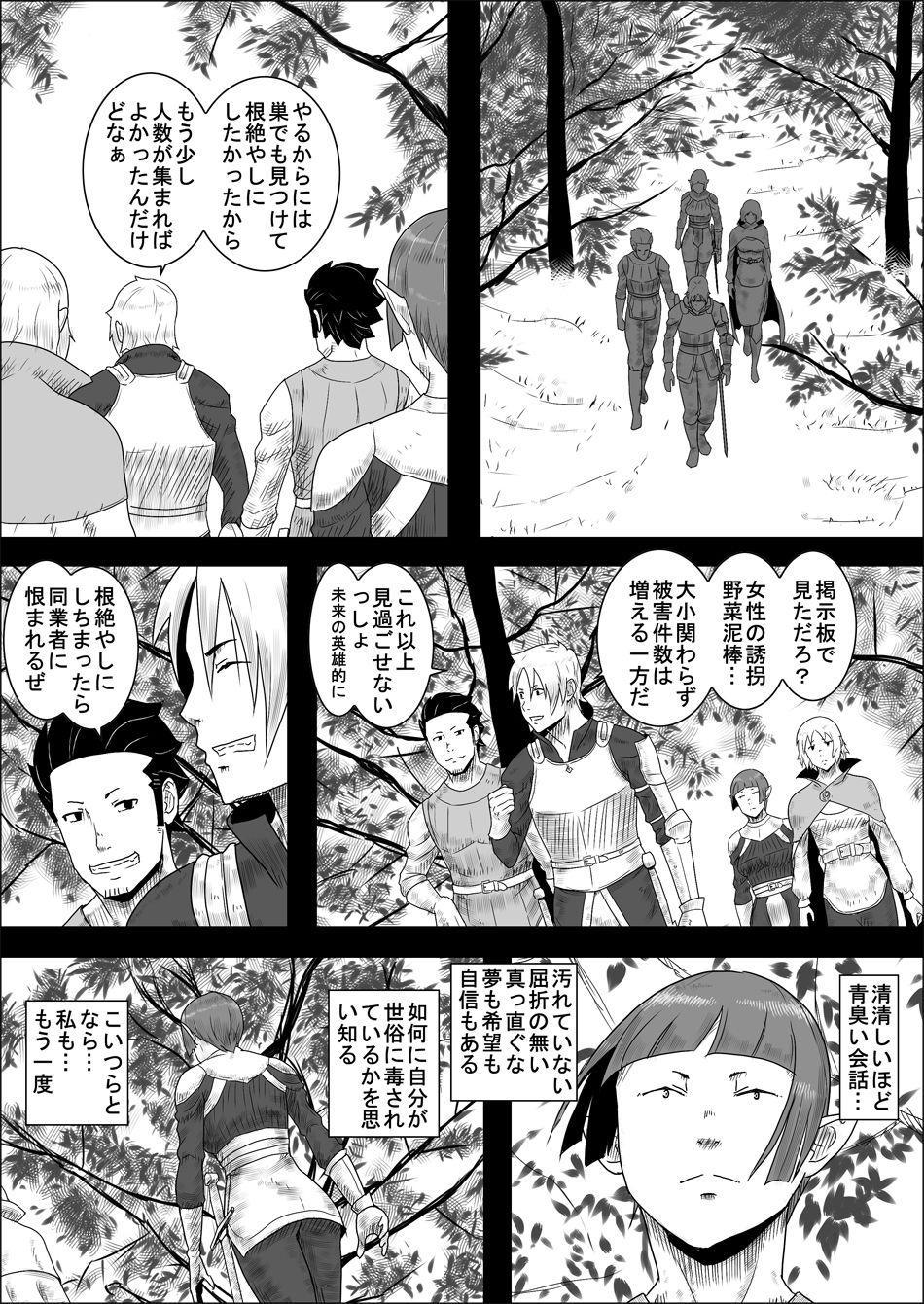 Mada Daimei no Nai Fantasy - Jimi na Elf to Minarai no Senshi II 6