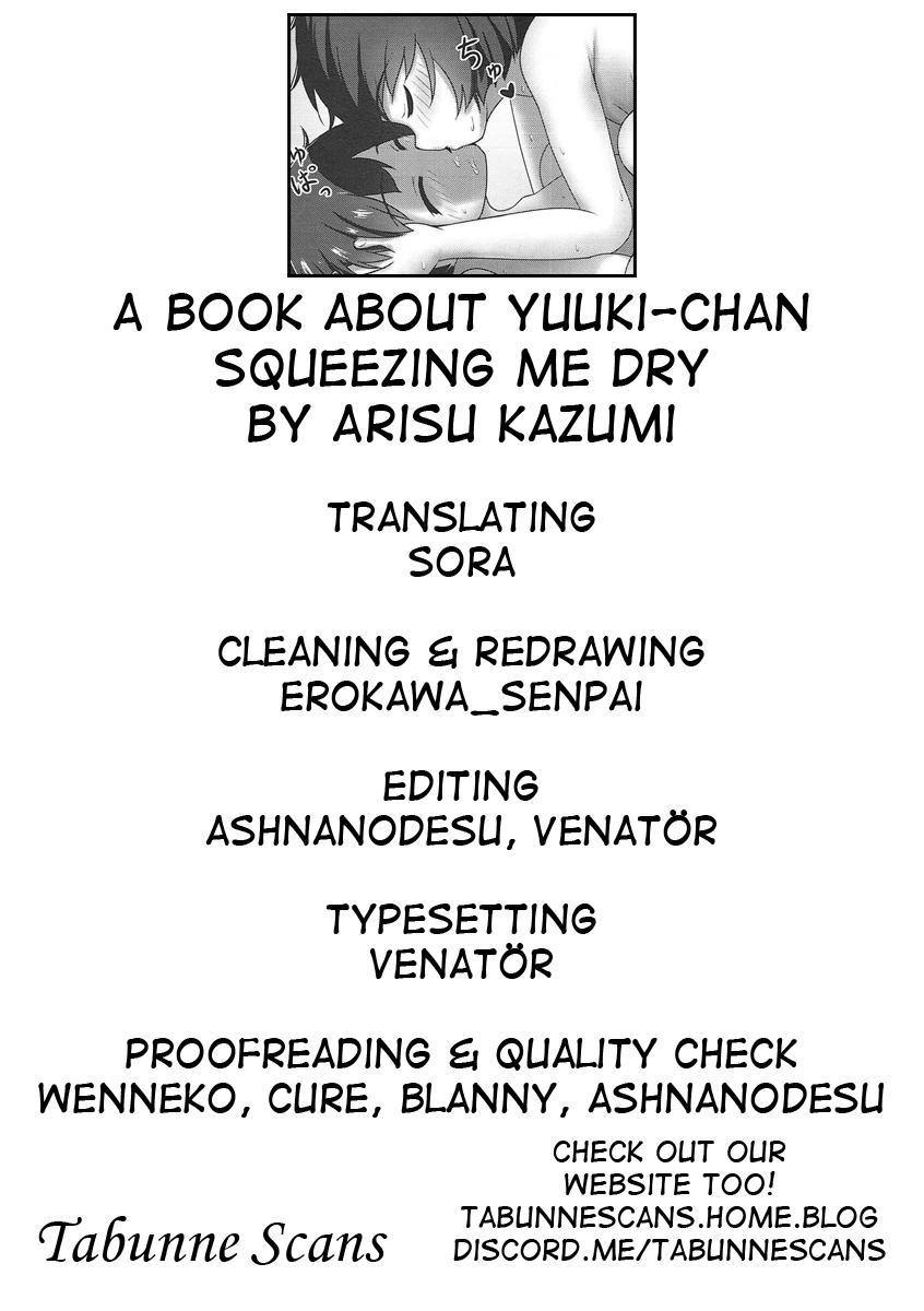 (C92) [Besshun-tei (Arisu Kazumi)] Yuuki-chan ni Shiboritorareru Hon | A book about Yuuki-chan squeezing me dry (Girls und Panzer) [English] [Tabunne Scans] 22