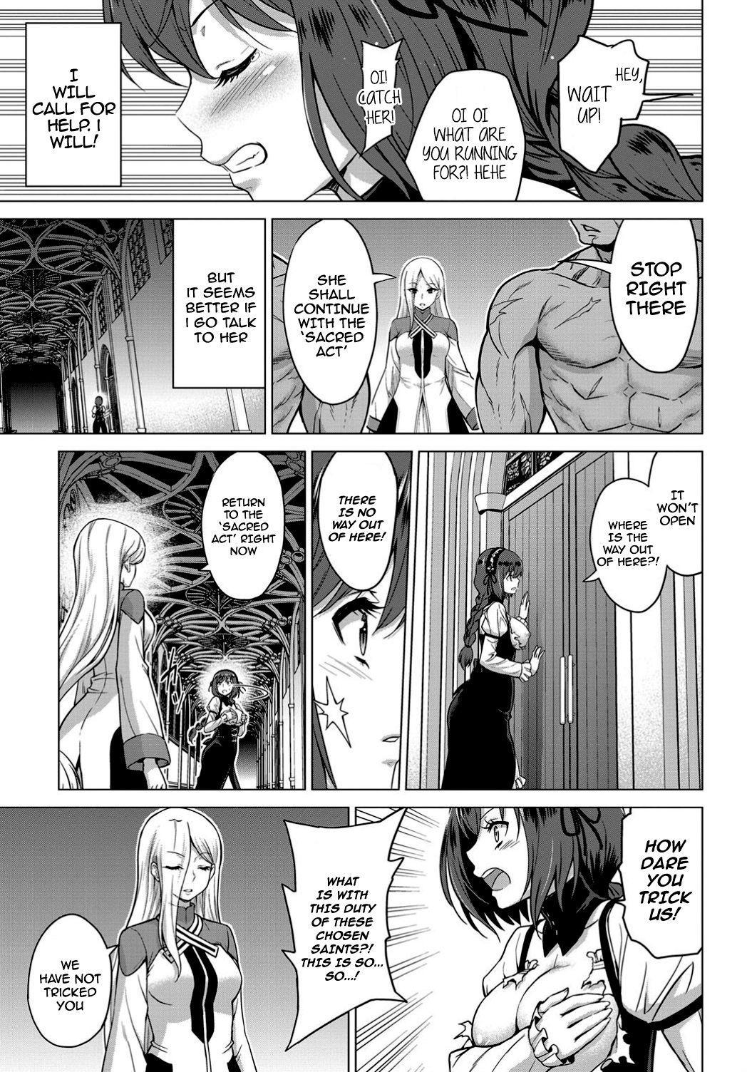 [Yamada Gogogo] Seijo no Rakuin -Annunciation of despair- #01 (COMIC BAVEL 2019-11) [English] {Stopittarpit} [Digital] 19
