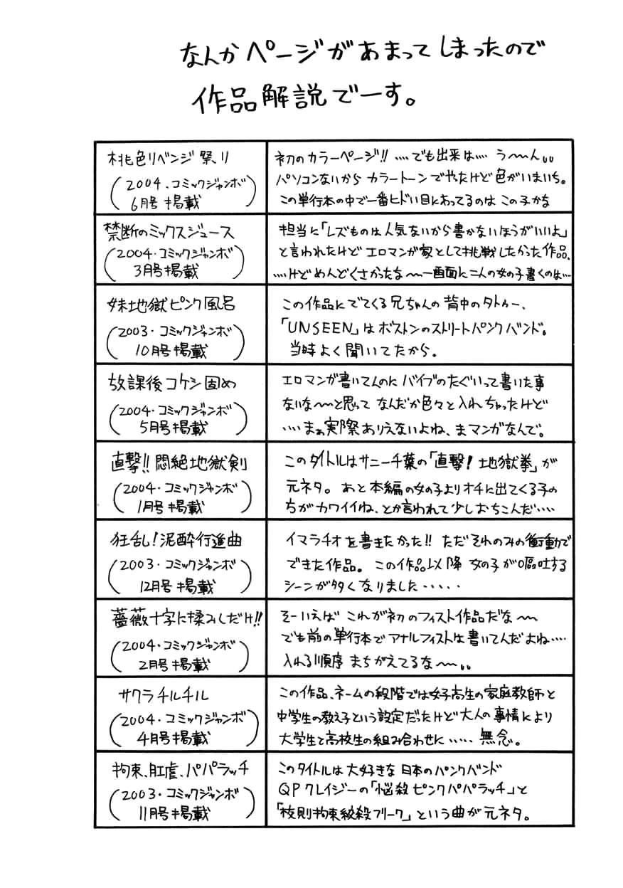 Chou Monzetsu Curriculum 169