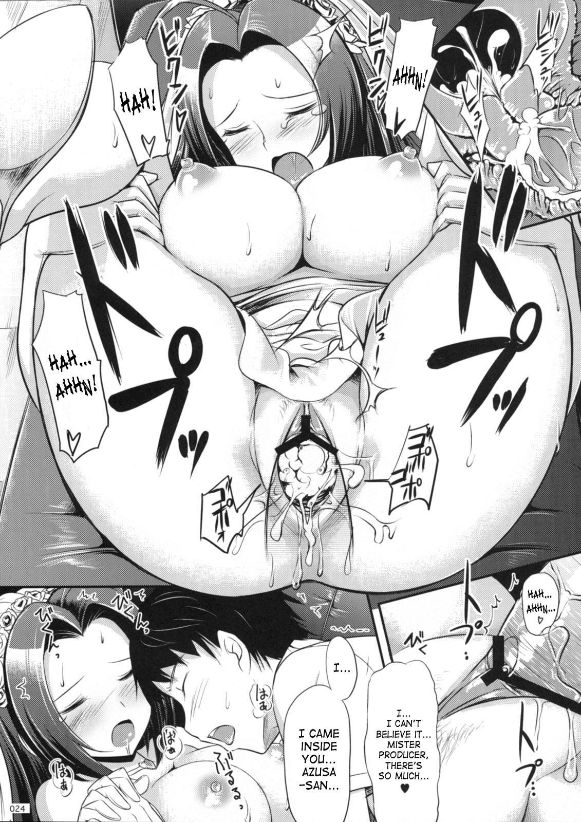 (C74) [Jenoa Cake (Takayaki)] Azusa-san no Present For you!   Azusa-san's Present For You! (THE iDOLM@STER) [English] 24