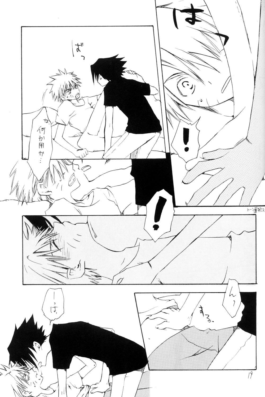 Watch Out!! (NARUTO) [Kakashi X Naruto - Sasuke X Naruto] YAOI 18