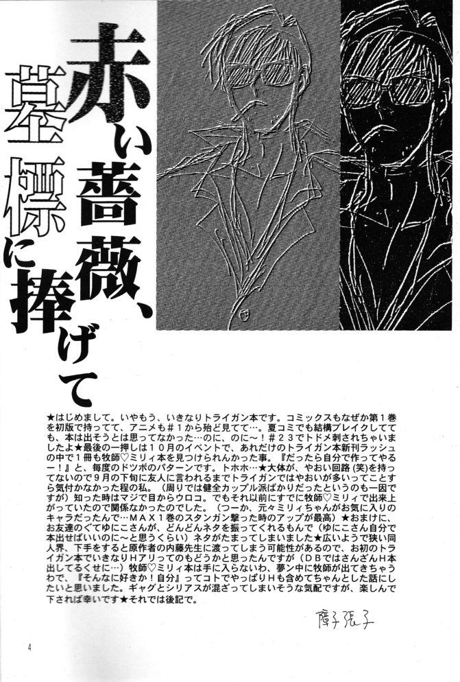 Akai Bara, Bohyou ni Sasagete 3