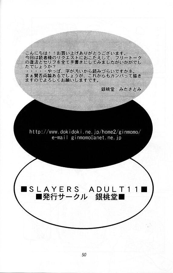 Slayers Adult 11 48