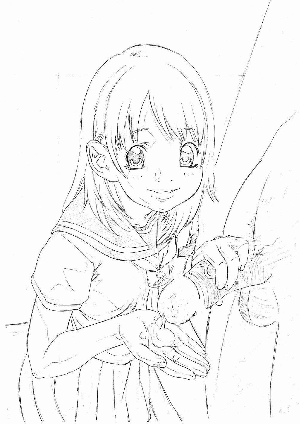 Original Oko-sama Rough Gen Copy Shuu 10