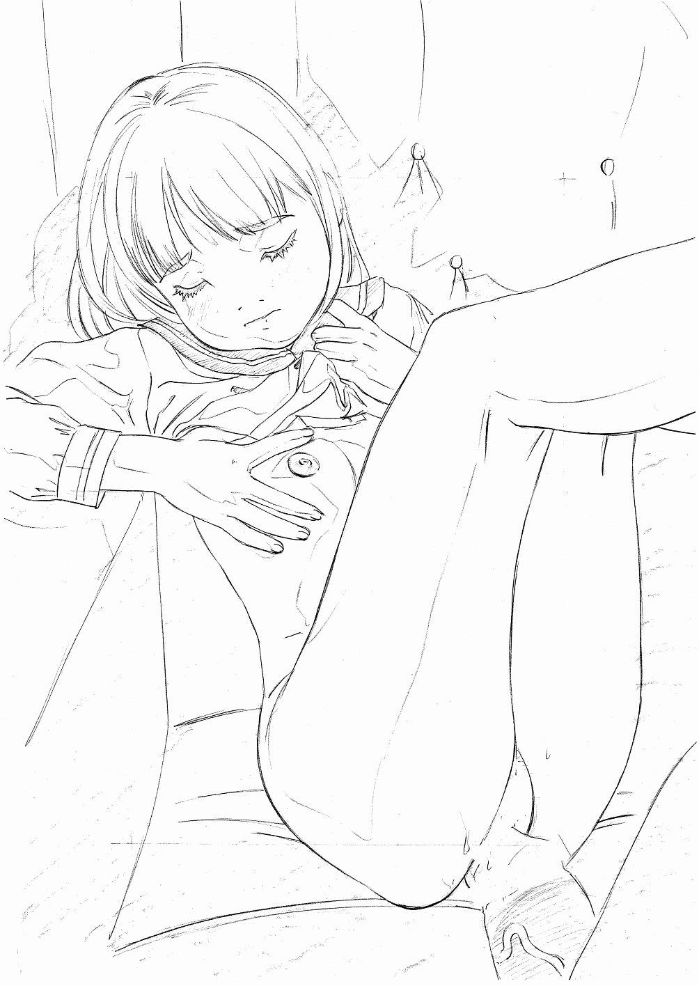 Original Oko-sama Rough Gen Copy Shuu 11