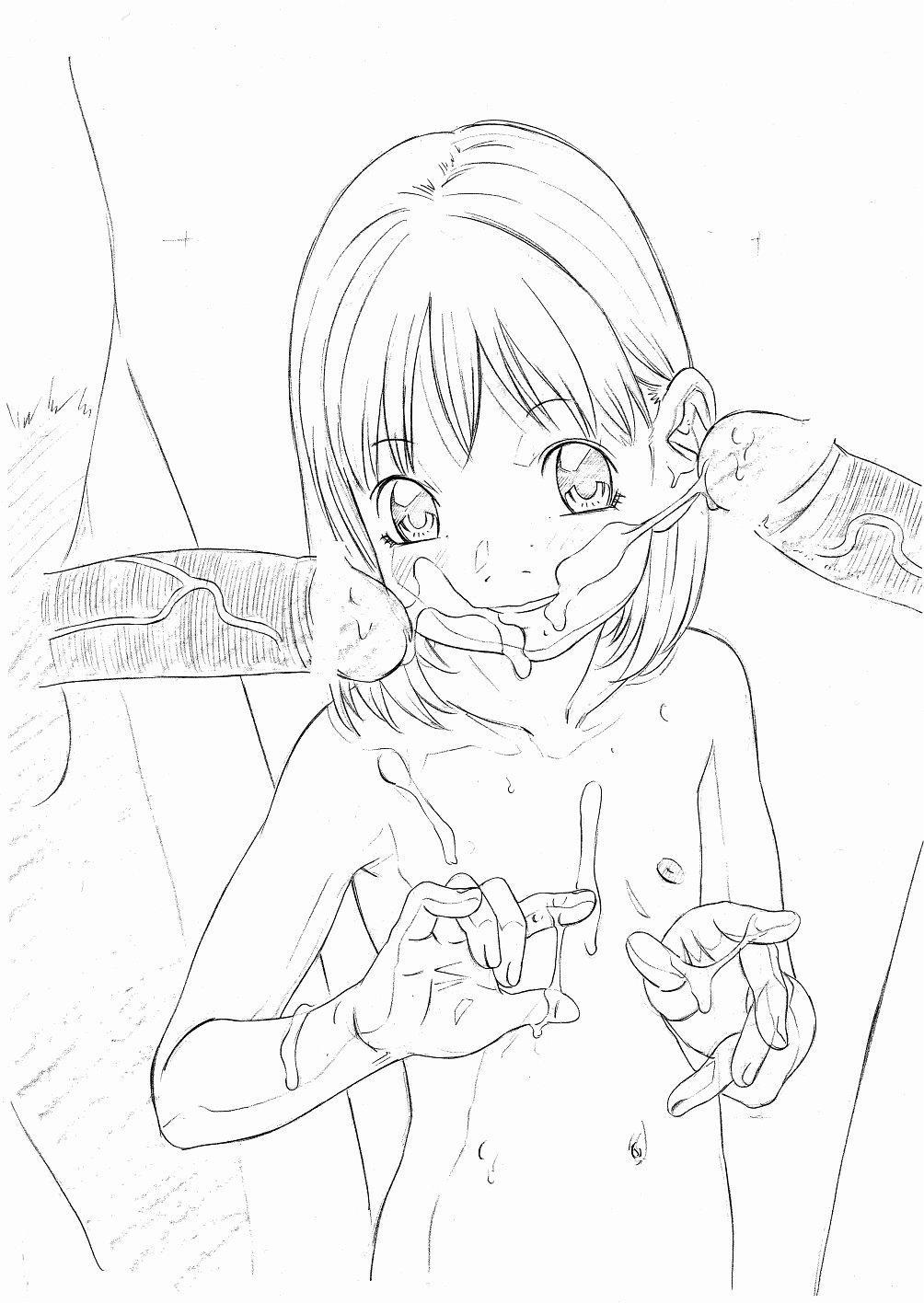 Original Oko-sama Rough Gen Copy Shuu 4