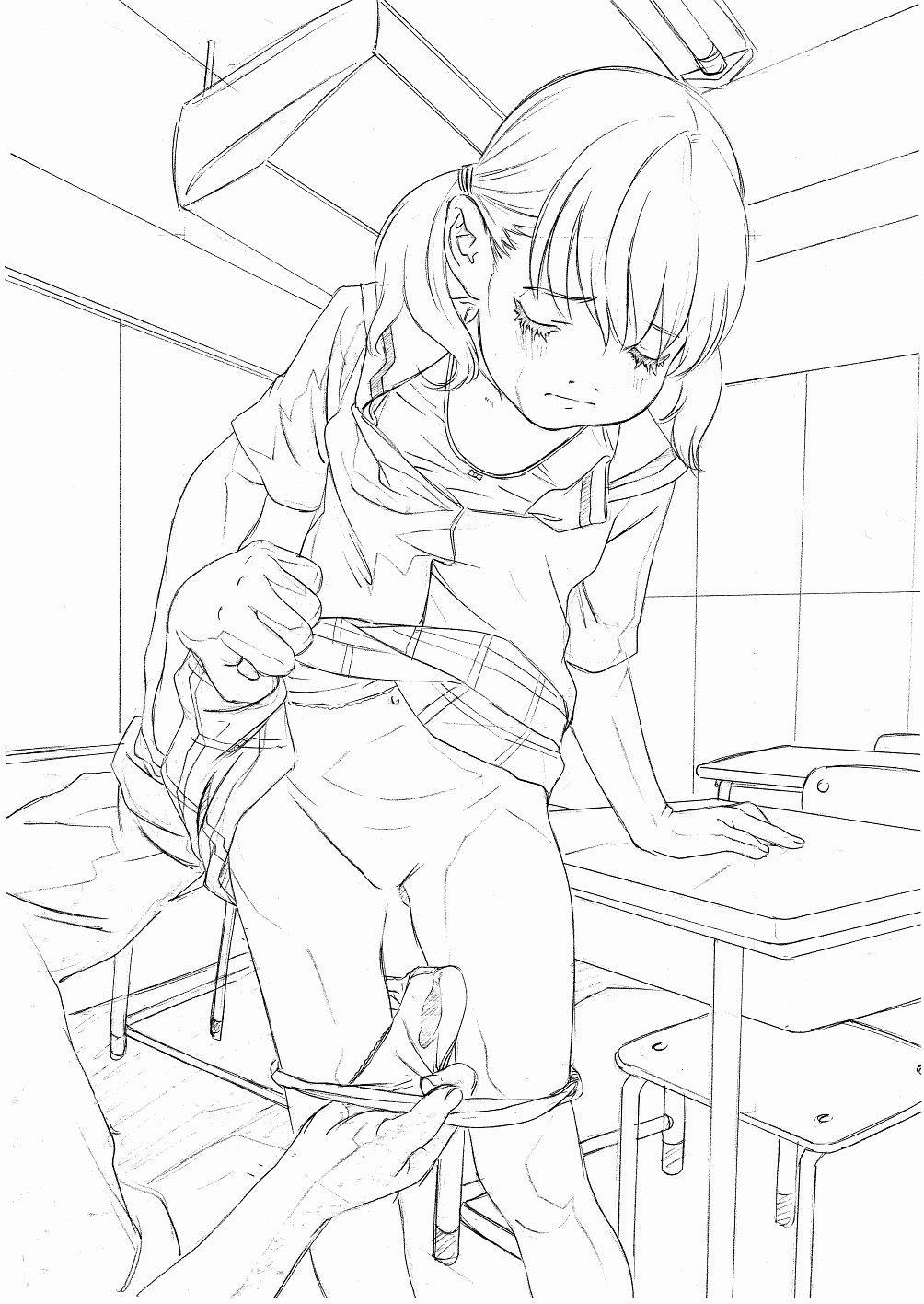 Original Oko-sama Rough Gen Copy Shuu 6
