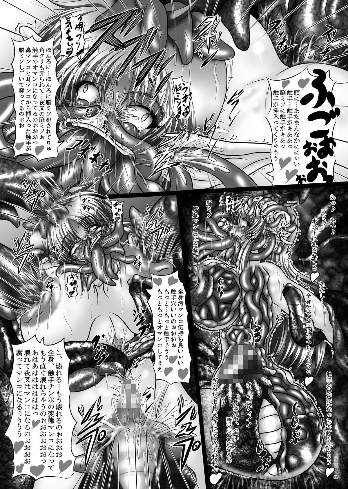 Dashoku Densetsu - Nihiki no Yashahime | The Two Yaksha Princesses 20