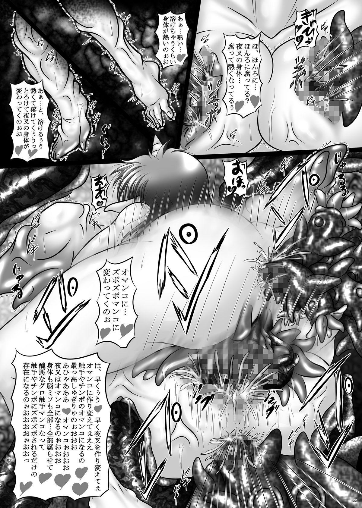 Dashoku Densetsu - Nihiki no Yashahime | The Two Yaksha Princesses 21