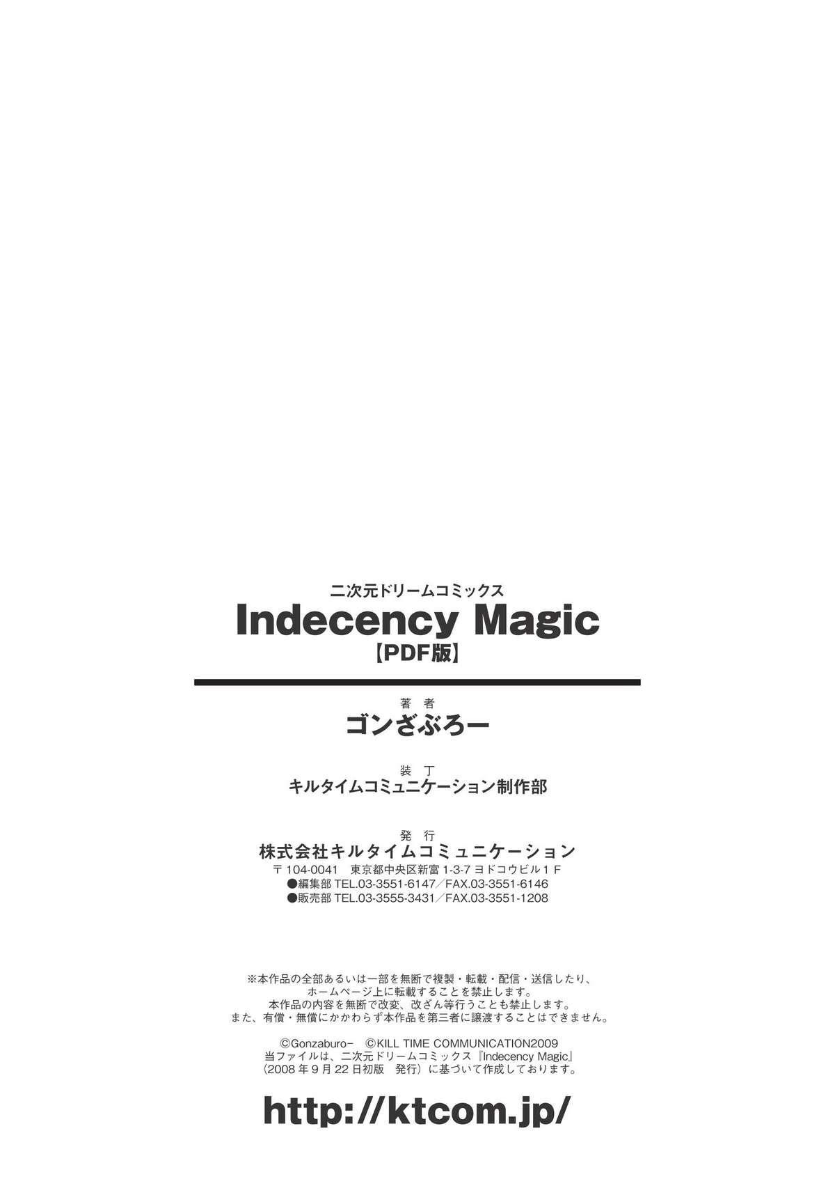 Indecency Magic 156