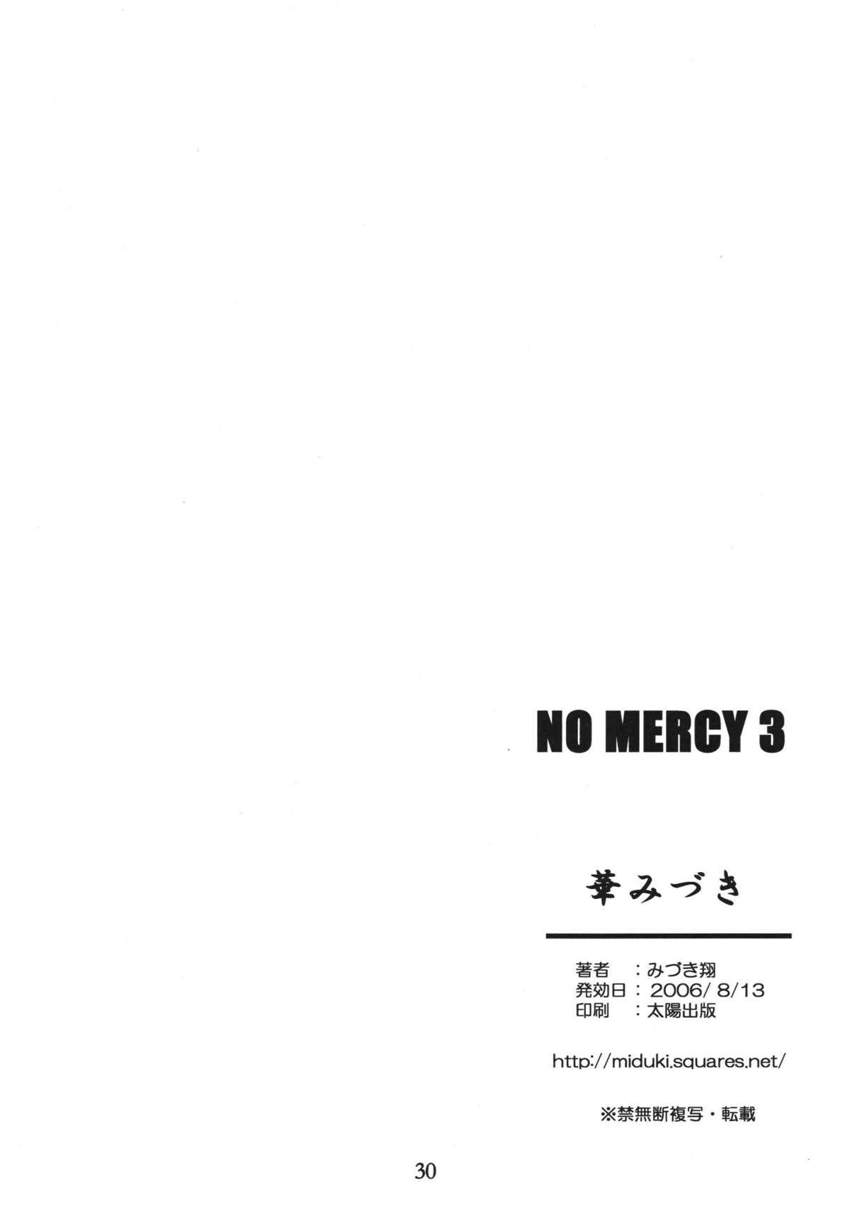 NO MERCY 3 29