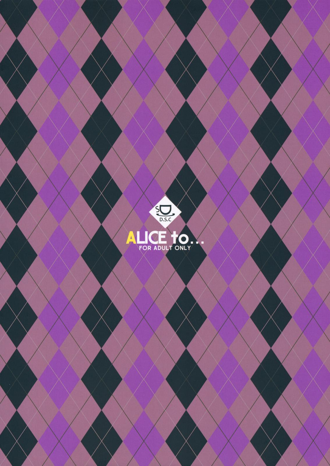 ALICE to... 27