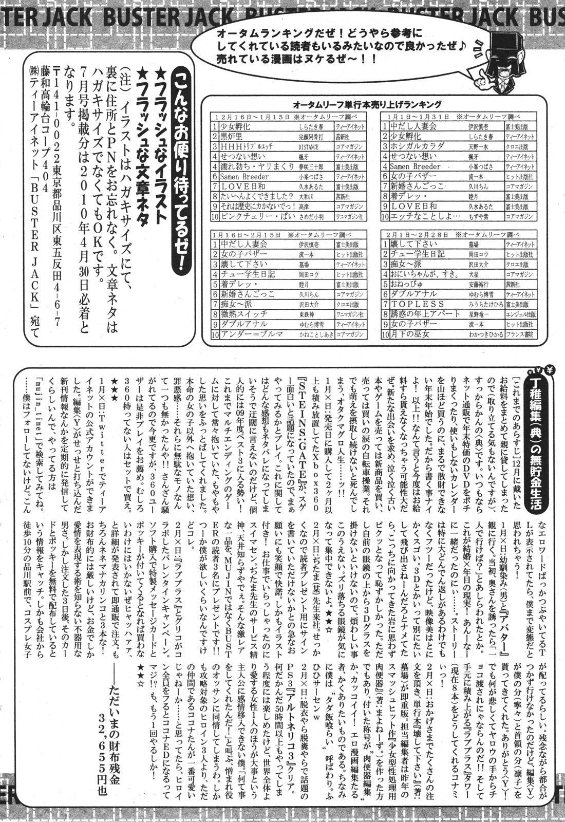 BUSTER COMIC 2010-05 Vol.07 482