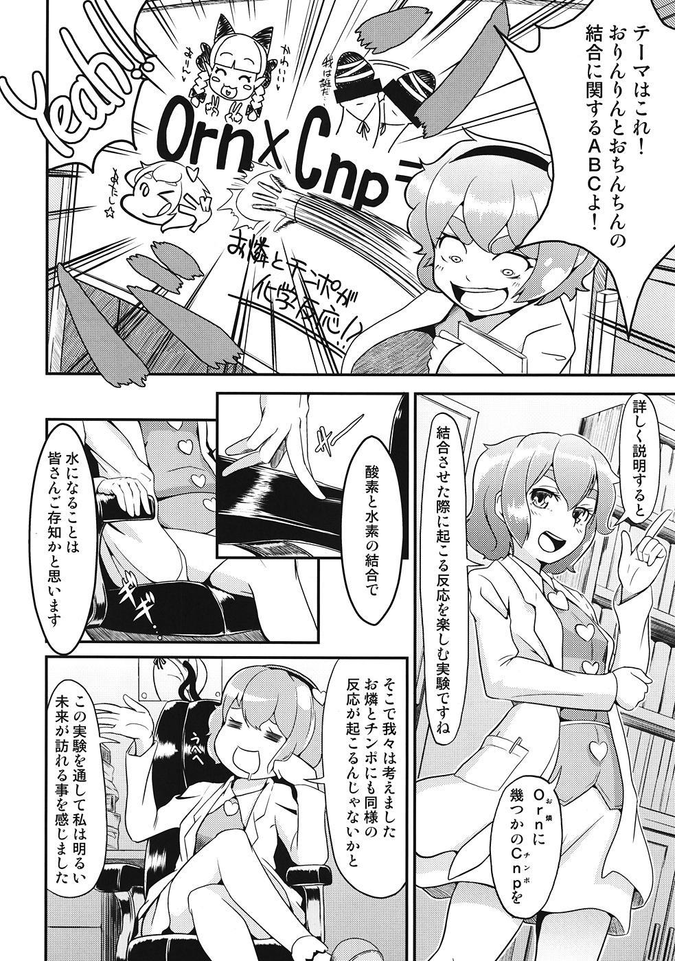 Orinrin to Ochinchin no Kagaku Hannou 2