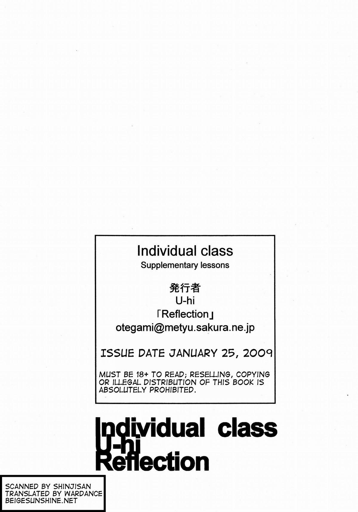 Individual Class Supplementary Lessons 13