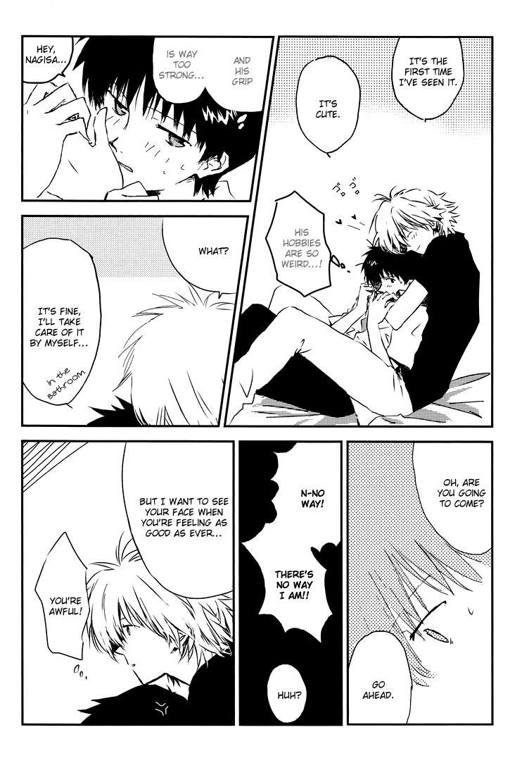 [Cassino (Kyoku Kouro Lily, Mayama Satori, kcca )] MAUVE. (Neon Genesis Evangelion) Eng 10