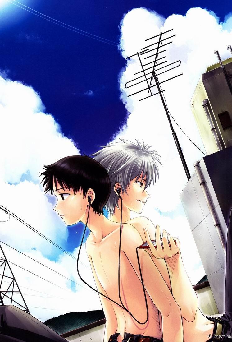 [Cassino (Kyoku Kouro Lily, Mayama Satori, kcca )] MAUVE. (Neon Genesis Evangelion) Eng 2