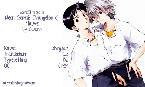 [Cassino (Kyoku Kouro Lily, Mayama Satori, kcca )] MAUVE. (Neon Genesis Evangelion) Eng 50