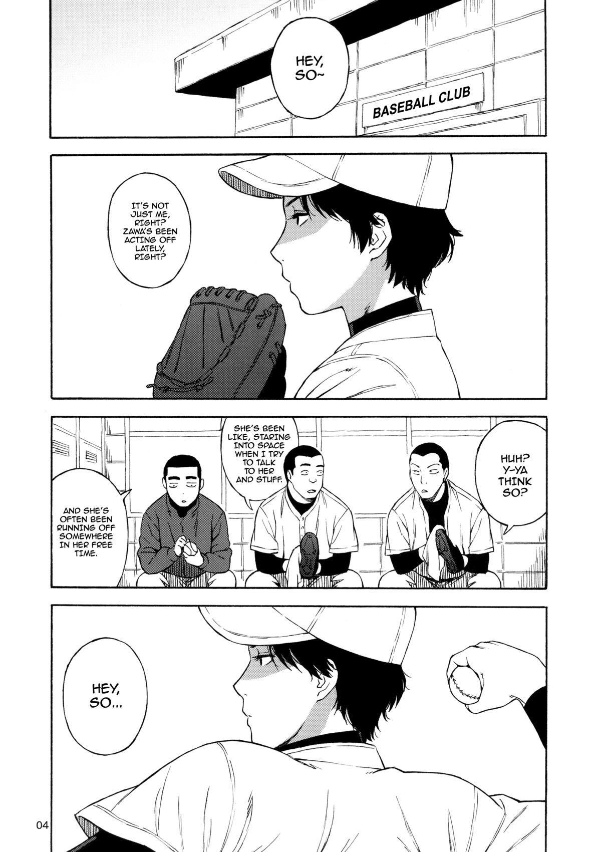 (C83) [666protect (Jingrock)] Kiretemasuyo, Hamuzawa-san. | There's Something about Hamuzawa-san (Koukou Kyuuji Zawa-san) [English] =LWB= 2