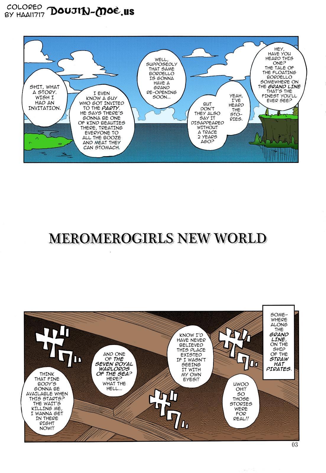MEROMERO GIRLS NEW WORLD 1