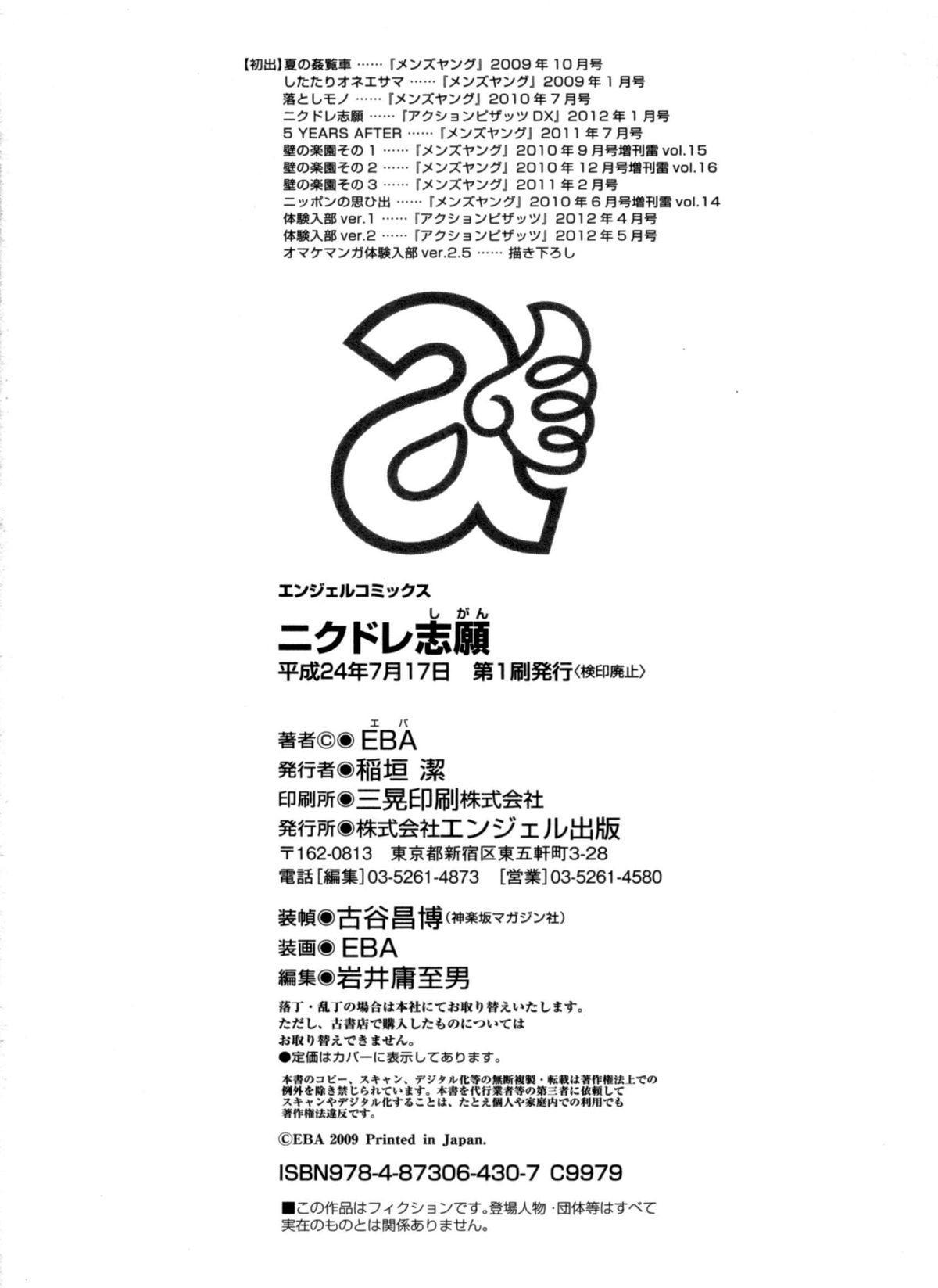 Nikudore Shigan | Aspiring Sex Slave 185