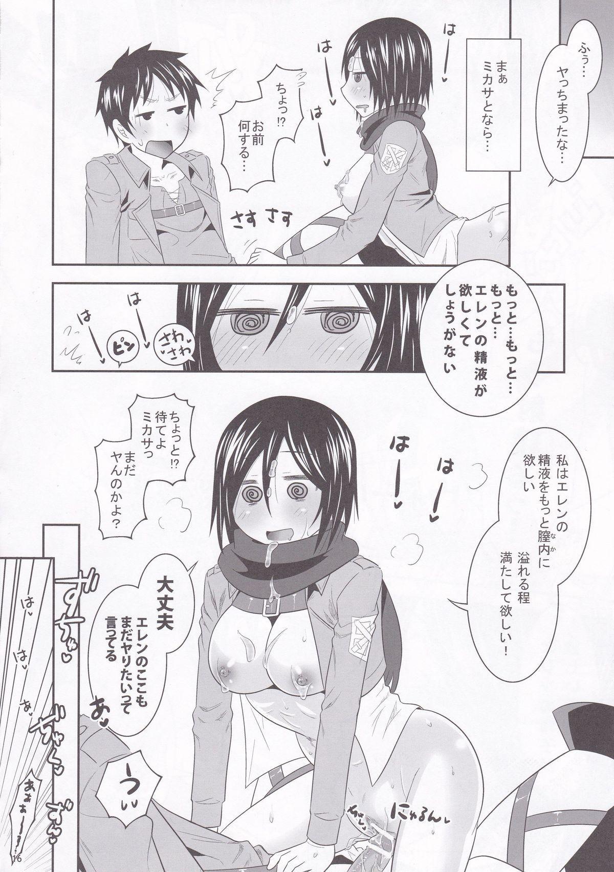 Shingeki no Mikasa 15